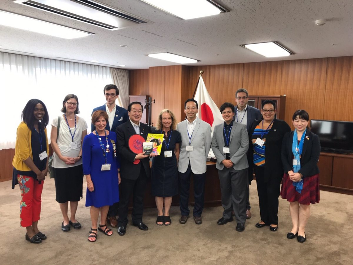 Minister for Reconstruction Hiromichi Watanabe  渡辺博道 復興大臣